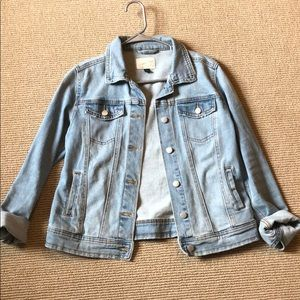 Soft jean jacket from Target